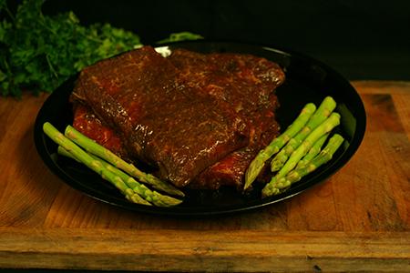 fresh beef flat iron