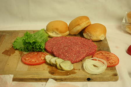 fresh beef sirloin patties