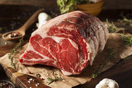 fresh beef prime rib roast