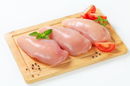 Fresh Boneless Skinless Chicken Breast (2 Lb Pack)