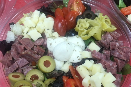 Homemade Fresh Antipasto Salad