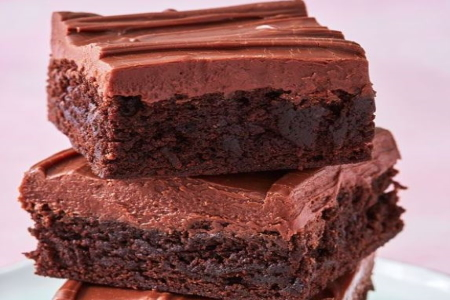Baker Chad's Homemade Fudge Iced Brownies