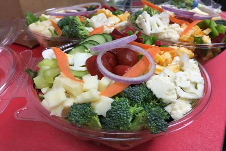 Homemade Fresh Garden Salad