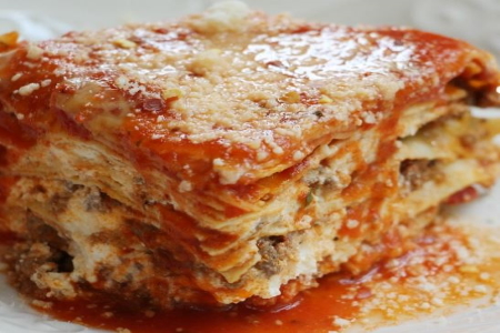 Meat Lasagna – 6 Lb Pan