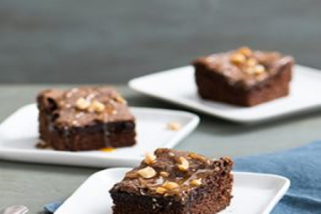 Baker Chad's Homemade Snickers Topped Brownies