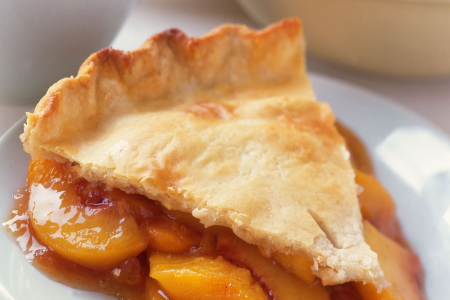 Home Baked Peach Pie