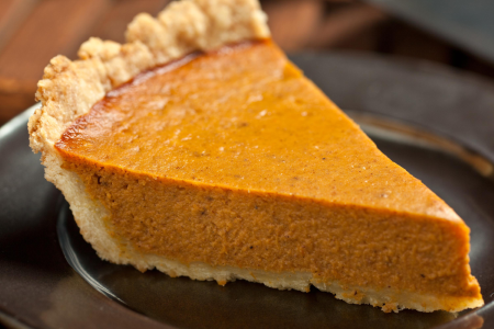 Home Baked Pumpkin Pie