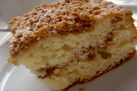 Baker Chad's Homemade Sour Cream Coffee Cake