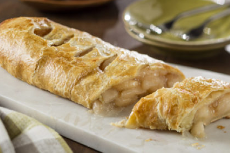 Baker Chad's Homemade Apple Strudel