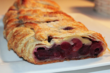 Baker Chad's Homemade Cherry Strudel