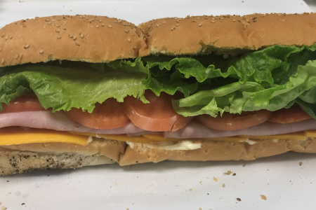 Homemade Fresh Big Boy Sub – Ham