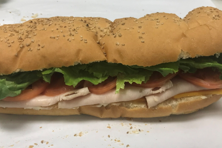 Homemade Fresh Big Boy Sub – Turkey