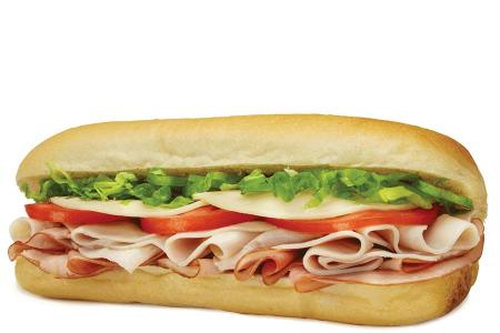 Homemade Fresh Club (Ham & Turkey) Sub