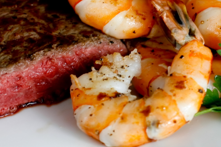 Surf & Turf Dinner For 2 (GRILL READY)