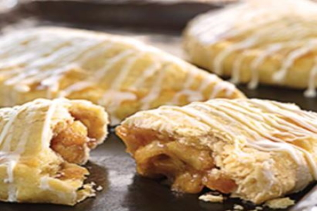 Home Baked Apple Iced Turnovers