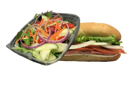 Homemade Fresh Half Sub & Salad Combo